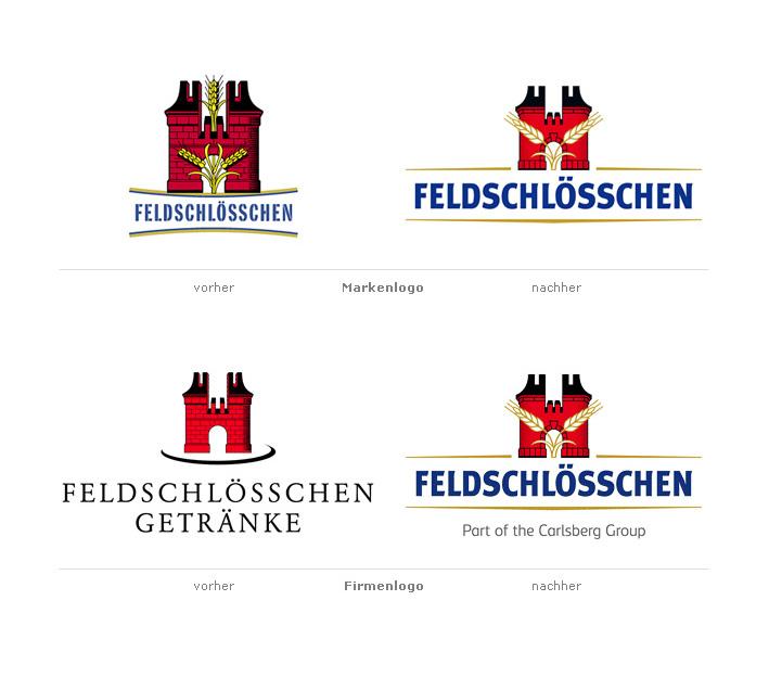 Feldschlösschen Logo-Redesign